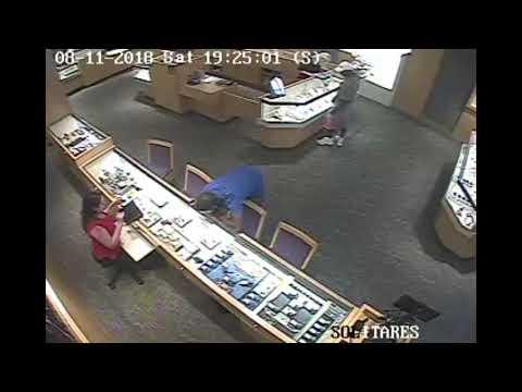 FlaglerLive | Kay Jewelers Robbery, Aug. 11, 2018