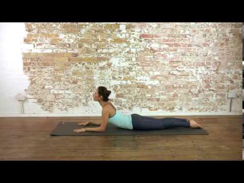16 yoga beginner  half cobra pose  youtube