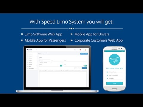 Limo Software | Limo Management Software | Speed Auto Systems