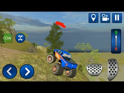Trophy Monster Trucks Simulator: Offroad Driving - ANDROID IOS Gameplay FHD #cars