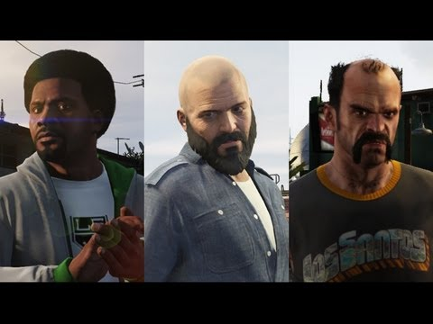 GTA V - Grand Theft Auto V Exclusive Features - social club