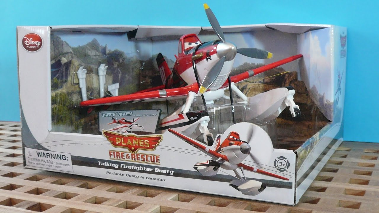 disney planes fire and rescue talking firefighter dusty