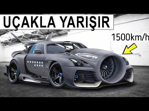 Bu Arabaların Hızını Gördüğünüzde, Başınız Dönecek | Jet Motorlu araçlar