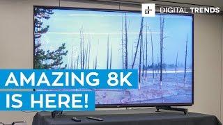Sony Z9G 8K HDR LED TV Hands On Review: Sony's 8K Future Burns Bright
