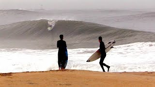 Pro Surfers CHARGE shorebreak SLABS and pull off INSANE rides!
