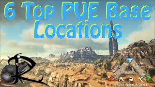 Ark Scorched Earth --  My Top 6 Great PVE Base Locations