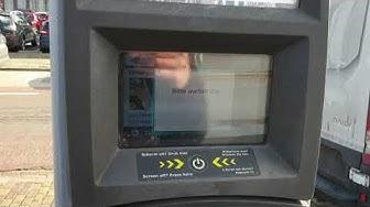 Maestro/VPAY Kartenakzeptanz an den Parkscheinautomaten in Venlo