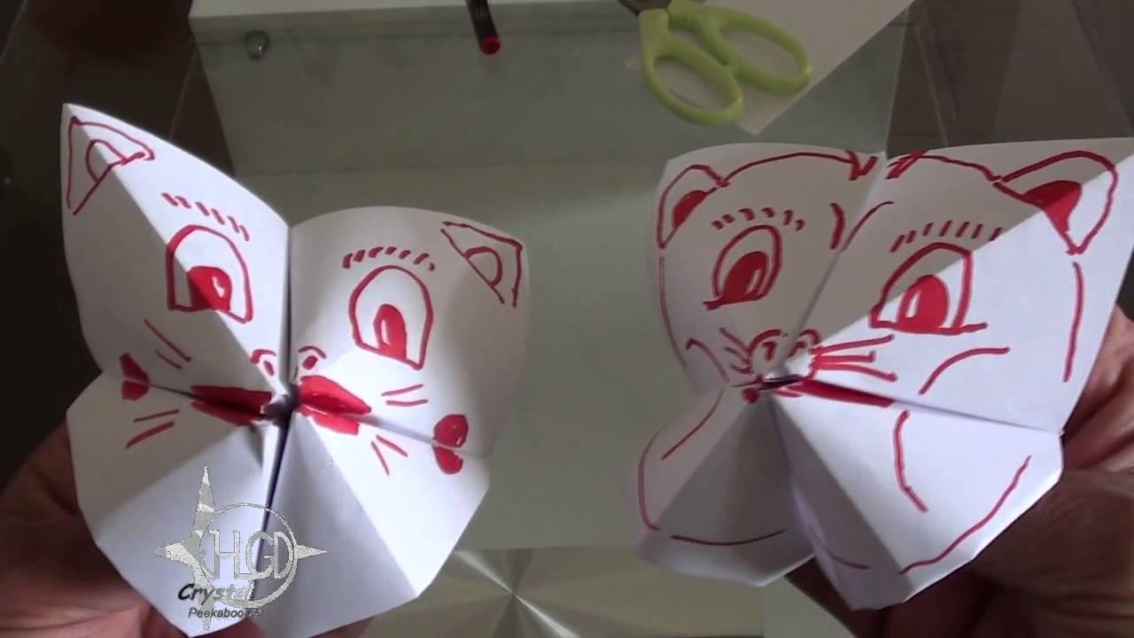 Papier Falten Spiel