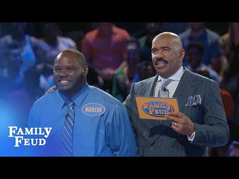 MARCUS and VICTOR are the MONEY TEAM! | Family Feud