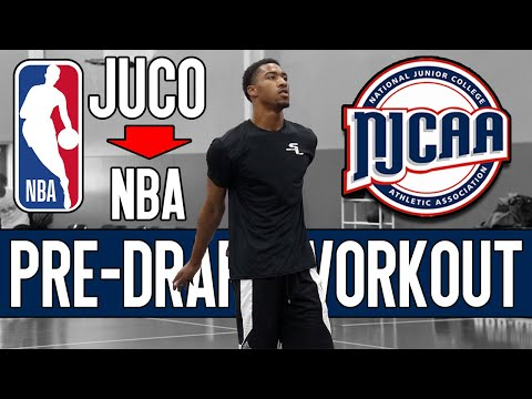 The JUCO Product Ready To Make NBA HISTORY! Jay Scrubb Pre-Draft Workout | #1 JUCO Star Is NBA READY