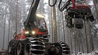 Komatsu 931.1 Harvester + 860.4 Forwarder
