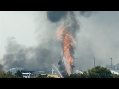German Chemical Plant Blast, Several Missing & Injured
