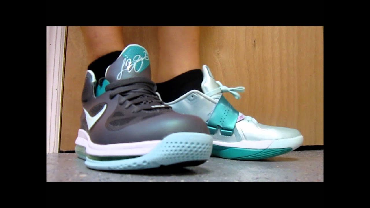 buy popular c619f 12e01 Nike Zoom KD 4 VS Lebron 9 Easter Sneakers W   DjDelz  PickOne