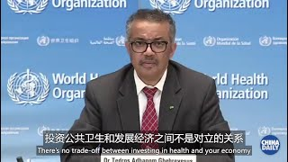 WHO: no trade-off between investing in health and economy
