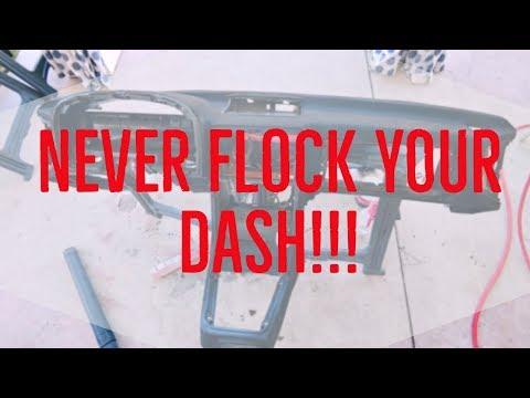 Dash Restoration FC Rx7 // Flocking