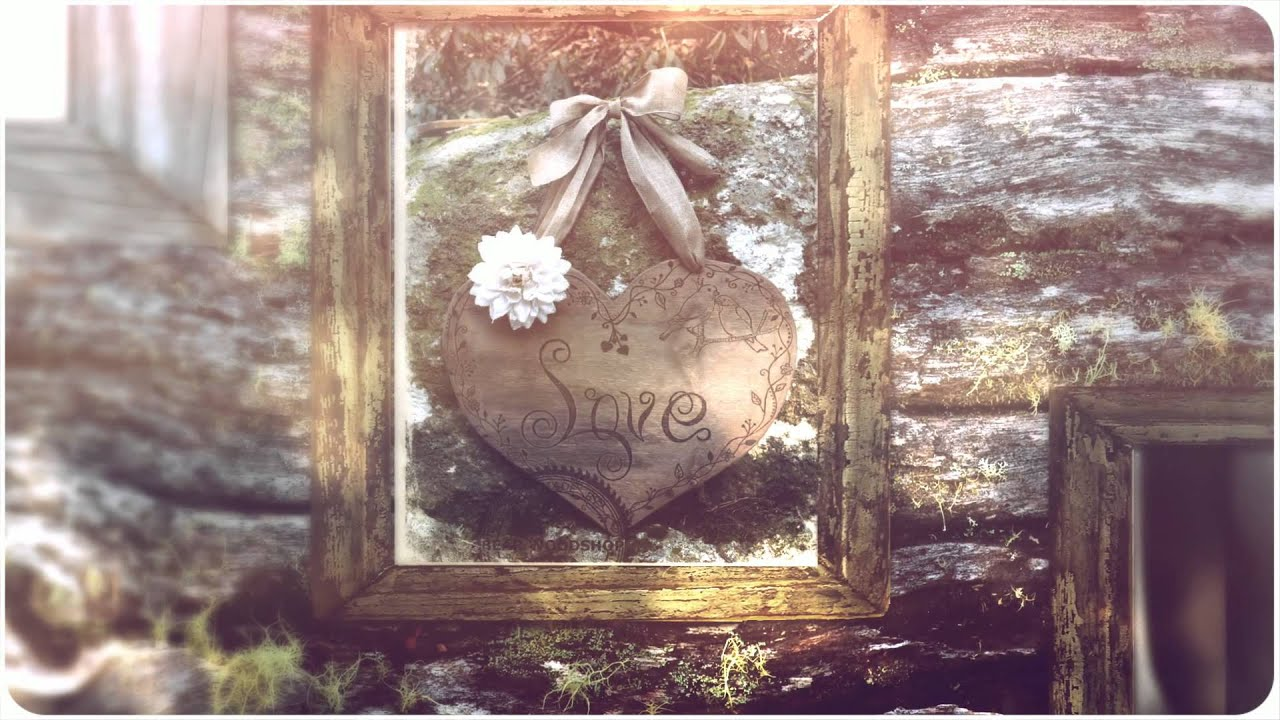 Engraved Rustic Heart Wall Hanging