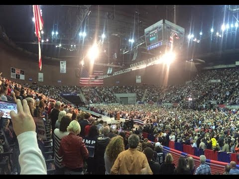 The TRUTH about Donald Trump's  Rally- I went to Investigate!! Pensacola, Florida