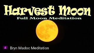 Harvest Moon | Full Moon | Cleansing | Deep Meditation Music
