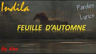 Indila - Feuille d