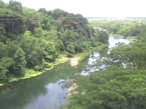 Rio Contramaestre, afluente más caudaloso del río Cauto. Santiago de Cuba