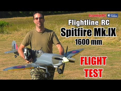 FlightLine RC Spitfire Mk.IX 1600mm (63\