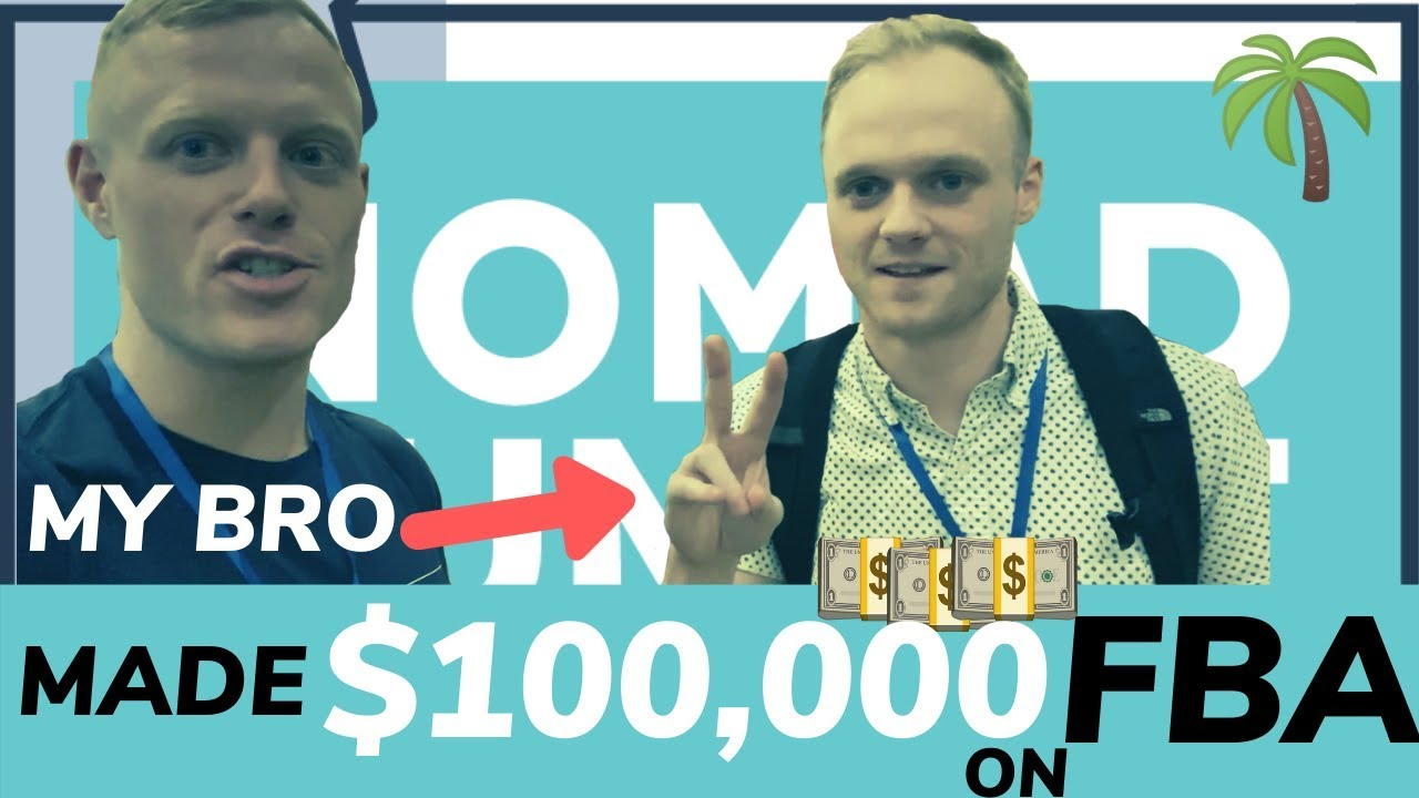 How my Lil Bro profits $100,000/yr on Amazon FBA w/very little money investment $$