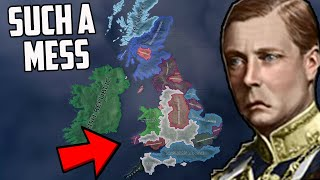 What If The UK Was An ABSOLUTE MESS?! HOI4