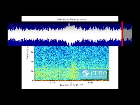 Sound from CTBTO Hydrophone of Interest to Search for Missing Flight MH 370