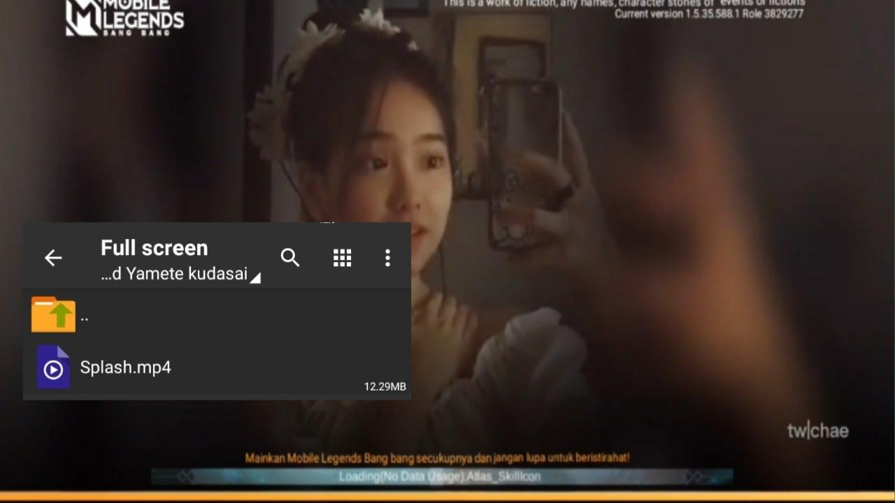 Download Intro Mobile Legends Keren   Yamete Kudasai Jedag Jedug Viral Tik tok