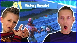 1 Kill Challenge Fortnite DUO Victory Royale with RonaldOMG!