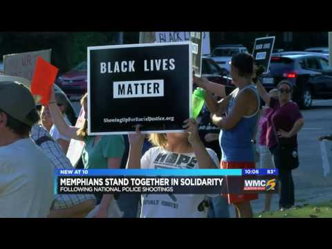Memphis Residents Hold Protests In Response to Deadly Officer Shootings