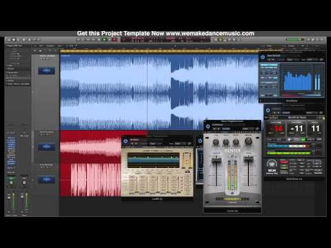 Trance & Progressive Mastering With Waves Plugins - Tutorial By www.logictemplates.com