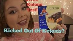 Will It Kick Me Out Of Ketosis? : Atkins Bar!