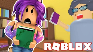 Escape The Book Store | Roblox Obby