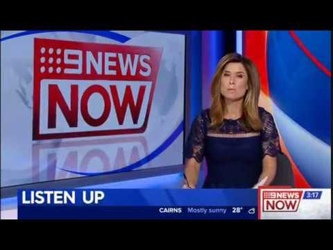 TV HAW Ken Sutcliffe Nine News Now 22 Aug