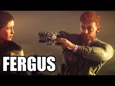 WOLFENSTEIN 2 The New Colossus - Best Fergus Scenes / Funny Moments