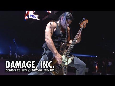 Metallica: Damage, Inc. (London, England - October 22, 2017)