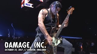 Metallica: Damage, Inc. (London, England - October 22, 2017)