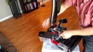 Kirby Avalir Vacuum Cleaner - Shampooer Install