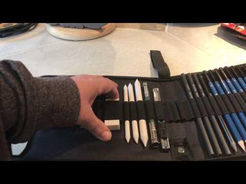 simpzia-art-set-simmper-34pcs-professional-sketching-and-drawing-pencils-kit-review