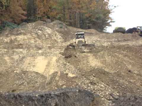 Cat/Caterpillar D9H dozer Vid. #4 Working In Reynoldsville Pa. By Glennparts