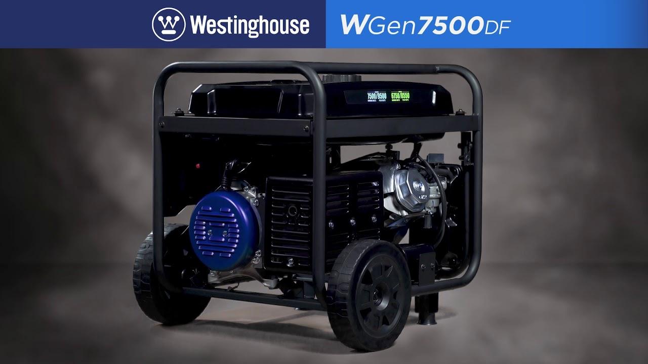 WGen7500DF - Westinghouse