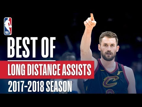 Best Long Distance Assists | 2018 NBA Season