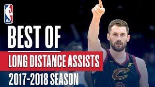Best Long Distance Assists   2018 NBA Season