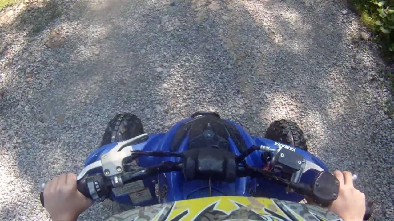 Raptor 125 top speed - YouTube