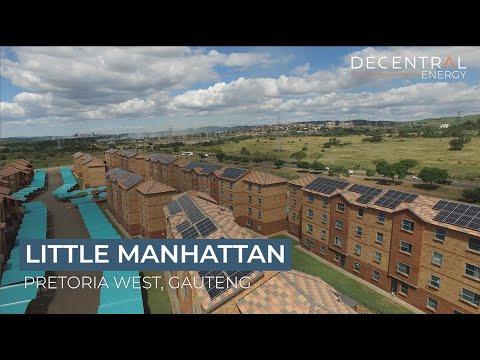 Little Manhattan - A Decentral Energy solar project