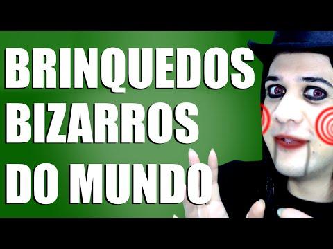 BRINQUEDOS BIZARROS DO MUNDO   MUNDO BIZARRO