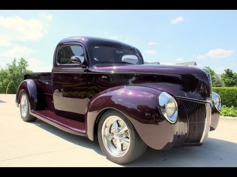 1940 Ford Pickup Street Rod Classic Muscle Car For Sale In Mi
