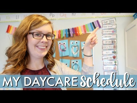 My Daycare Schedule | DAYCARE DAY