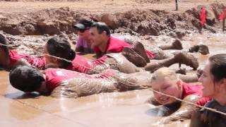 Blind Runners Conquer The Warrior Dash